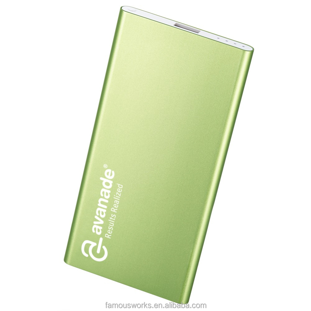 Super thin and high quality X-Power XL portable power bank portable charger for promotional gift