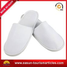 wholesale nonwoven slippers for inflight pedicure disposable slippers large airline slippers