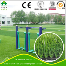Machine Made Artificial Turf Landscaping for garden decor by wuxi green lawn