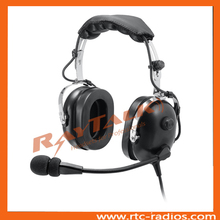 General Airplane Passive noise cancelling PNR Aviation headset Airlines Headphones