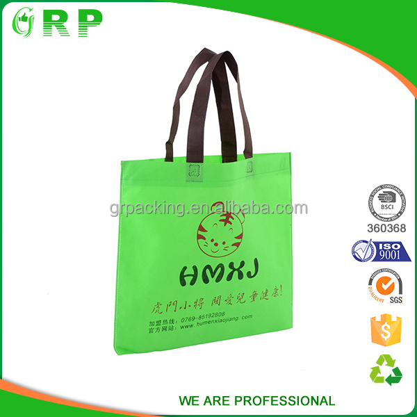 Multifunctional uses customized advertisment disposable nonwoven cloth bag