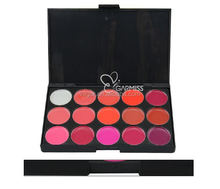 new products on china market Fascinating 15 color Shinny Lipstick Palette