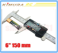 RC tools 150mm LCD 6 inch Electronic Digital Caliper Vernier Gauge Micrometer Stainless Steel Construction 150 MM