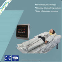 Effective Air-pressure pressotherapy fit to household use Infrared slimming beauty device