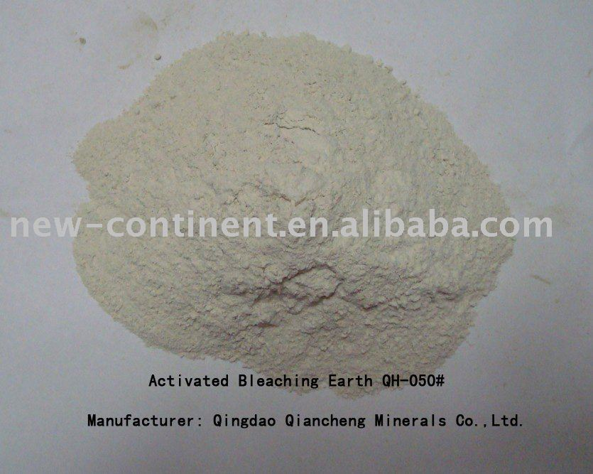 Light White Activated Bleaching Clay (QH-050#)