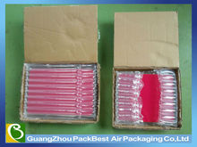 Good performance column air bag packaging for cookie tin