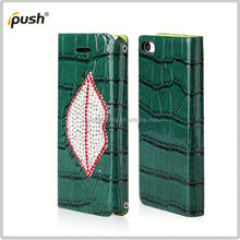 2014 high quality leather case for iphone 5c folio leather case for iphone 5c
