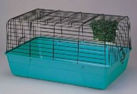 hot-dip galvanized metal rabbit hutch(factory)