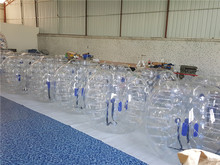 1.2m Clear PVC Inflatable Human Body Bumper Ball