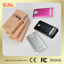 High quality&best price 4200mAh for samsung galaxy note 3 n9000 aluminium metal bumper case