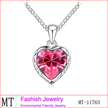 Wholesale Replica Jewelry Crystal Gemini Necklace