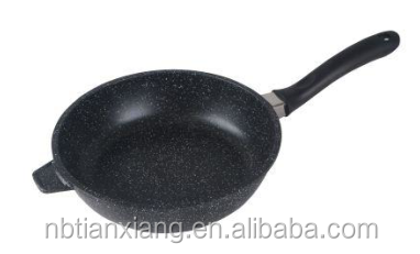 aluminum nonstick diecasting deep frying pan