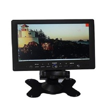 Remote Control 1080p Input VGA HDMI AV-7 Inch Touch Screen Car Monitor