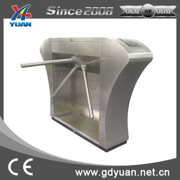 Card Reader Emergency Drop Arm Available Tripod Turnstile