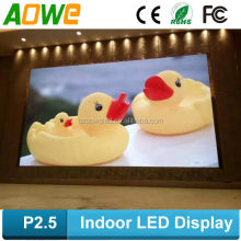 P2.5 indoor led screen high defination full color led display module
