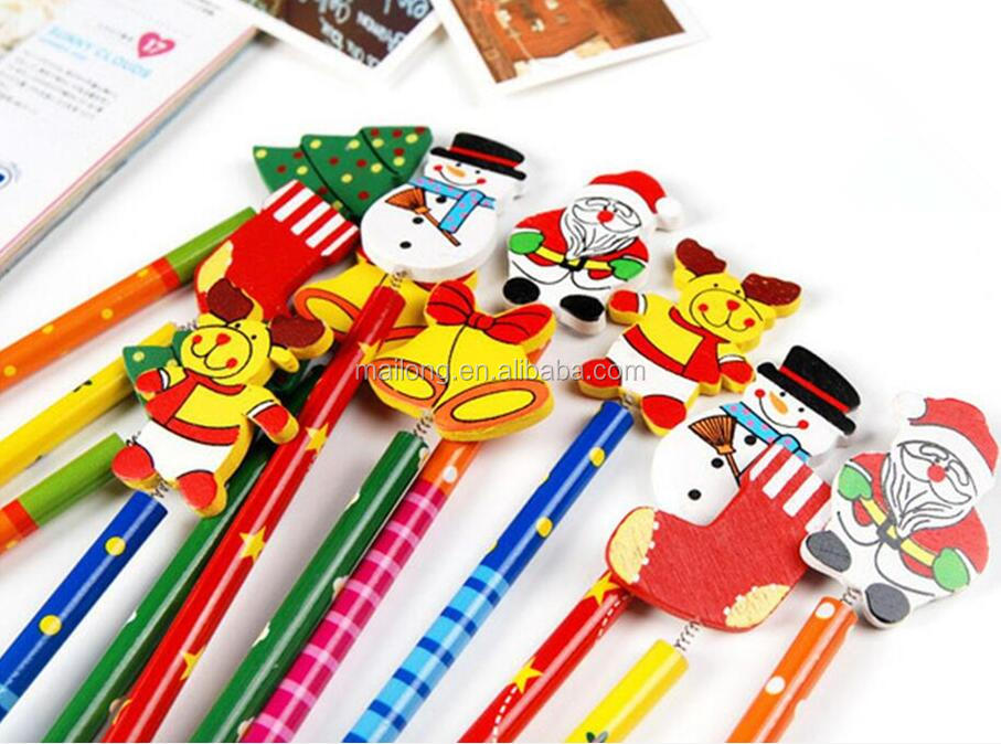 Cartoon pencil Christmas advertising gift promotional items Creative home new fancy gift