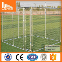 Heavy duty galvanized metal dog kennels / cheap chain link outdoor dog fence