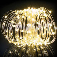 Christmas copper wire color changing small string micro led light