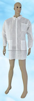 Wholesale high quality hospital uniform non-woven medical doctor gowns