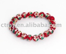 CTCB014 cloisonne round beads fashion bracelet jewelry