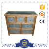 Room Decorative Wooden Iron Storage Cabinet