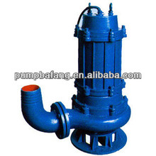 Non-clogging centrifugal electric submersible sewage bilge pump