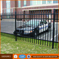 Prefabricated galvanized steel parking lot fence