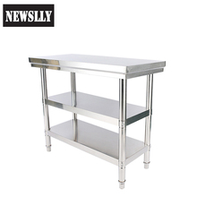 Factory price working tables food prep catering table
