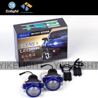 2x Bi Led Projector Cool Bulb CR EE LED FAN PROIETTORE LAMPADINE AUTO KIT LED XENON PROJECTOR