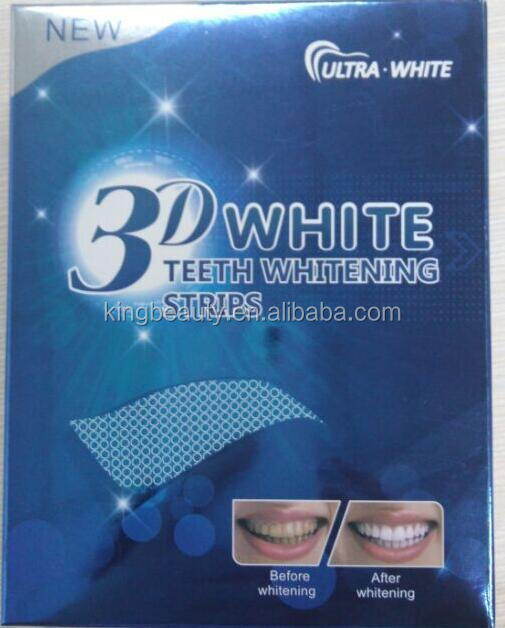 2016 new professional 3d teeth whitening strip-hot sell
