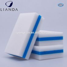 Dirty grout cleaning sponges, white large cleaning sponges, scouring kitchen sponge scourer