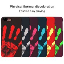 Temperature Sense Hot Change Color Back Cover For LG G3 D850 D851 D855 Case Thermal Sensor Heat Sensitive Case