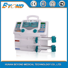 CE approved cheap portable electric Double Channel Syringe Pumps
