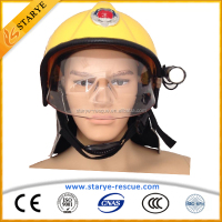 260 C Heat Resisting Firefighting Safety Helmet