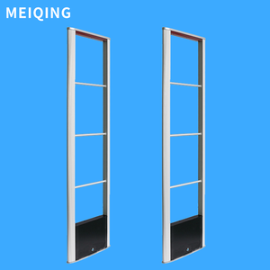 8.2Mhz RF Anti theft System 6.7Mhz Optional Alarm Door Electronic Sensor Jammer Gate Anti Shoplifting Devices for Supermarket