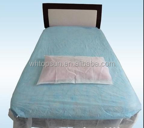 Waterproof disposable massage fitted bed sheet