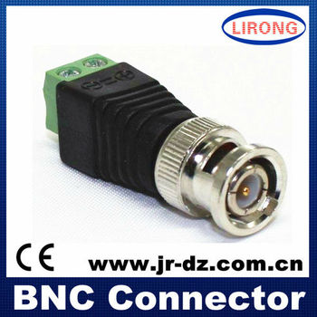 BNC connector for cctv camera