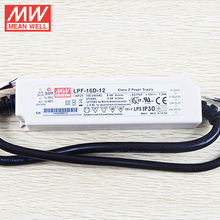 MEANWELL 1-10V and PWM Dimmable LPF-16D-12 PFC 16W 12V LED Driver