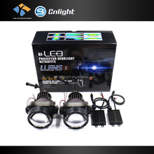 Motorcycle led projector headlights Car Clear lens hid bi-xenon bulbs headlight project lens h7for vw polo projector headlight