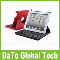 360 Rotating Removable Wireless Bluetooth Keyboard Case For iPad 2 3 4