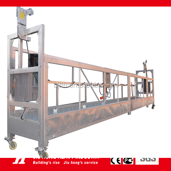 ZLP630 aluminum facade cleaning machine / Electric Gondola/ Suspended Platform/ Gondola / Cradle
