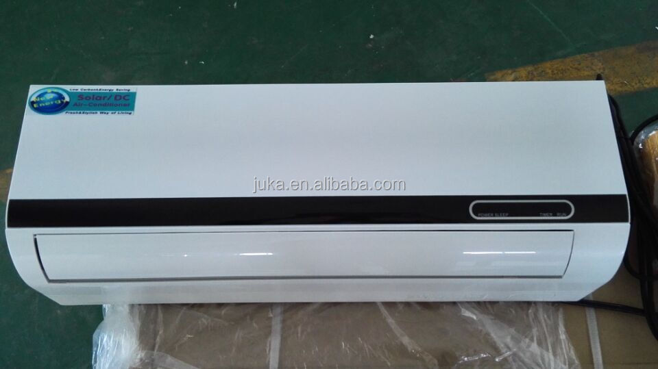 Low Price 100%solar Split Wall Mounted 48V DC Air Conditioner ,Solar AC, Solar Air Conditioning