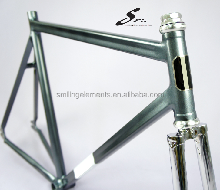 "Aluminium 1"" thread Frame Set Fixed Gear Bicycle Road Bike"