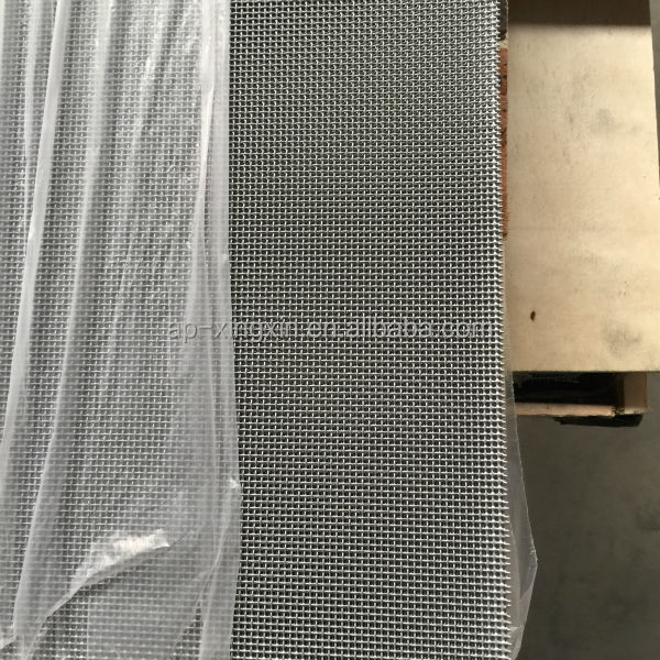 Alibaba powder coated homde depot stainless steel security screen mesh