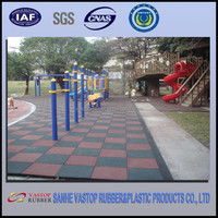 Safety Environmently Friendly Outdoor Playground Rubber
