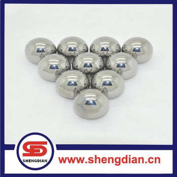 High quality chrome and carbon steel balls/chrome steel balls metal balls