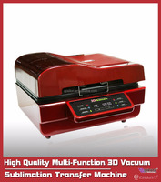2016 All New High Quality Multi-Function 3D Vacuum Sublimation Transfer Machine
