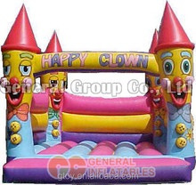 clown commercial inflatable jumping bouncy house/castle