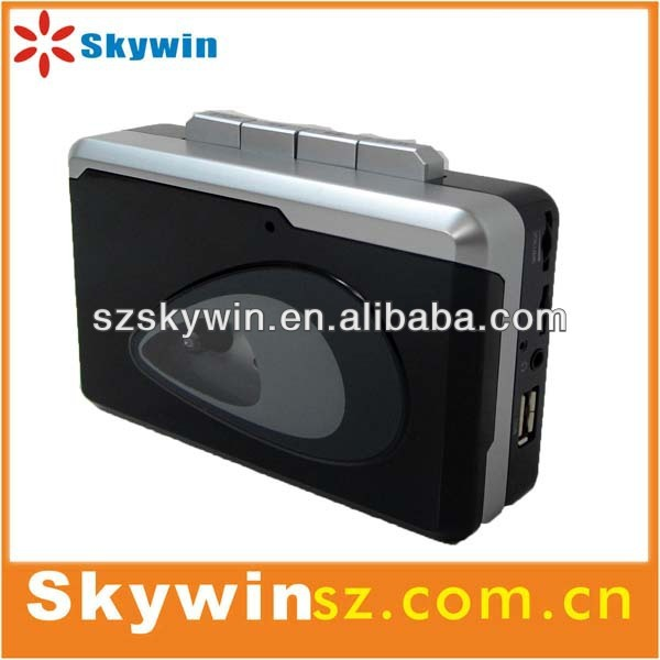 portable newest radio cassette recorder player with USB/TF card