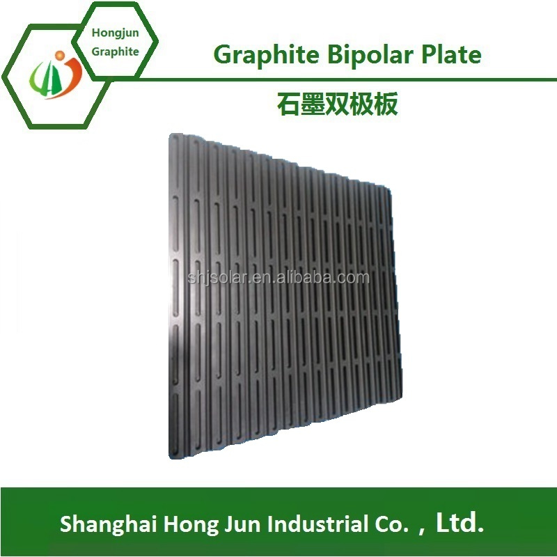 Solid oxide fuel cell graphite bipolar plate